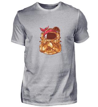 Astronauten Gangsta Shirt