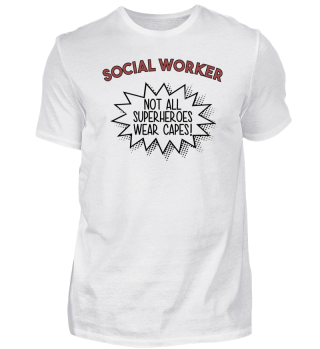 Superhero Capes Social Worker