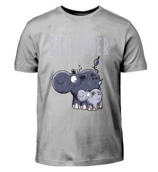 Big Bruder - Nilpferd - Geschwister