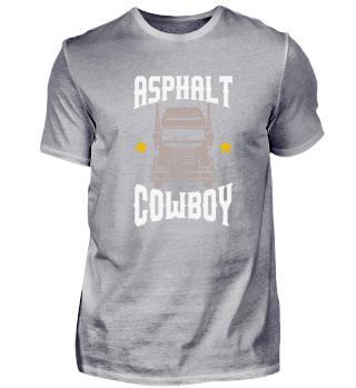 Trucker Asphalt Cowboy