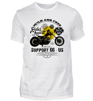 ☛ RiDER · SUPPORT 66 · US #14