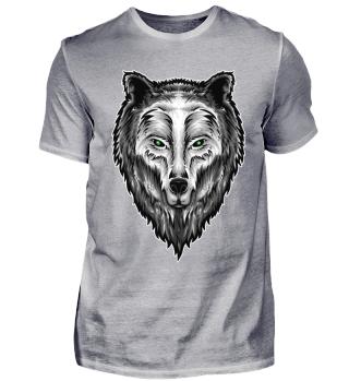 Grauer Wolf Shirt