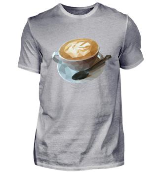 Kaffeetasse im Poly-Design
