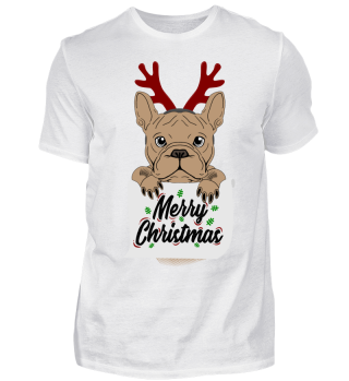 Bulldogge Merry Christmas Bully Geschenk