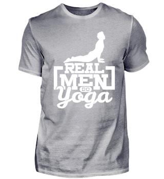 Real Men do Yoga - Fitness Sport Gift