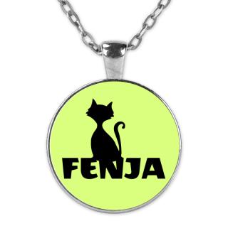 Fenja Name Namenskette Namenstag Katze