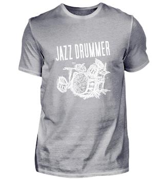 Jazz Drummer Player Music Dance T-Shirt