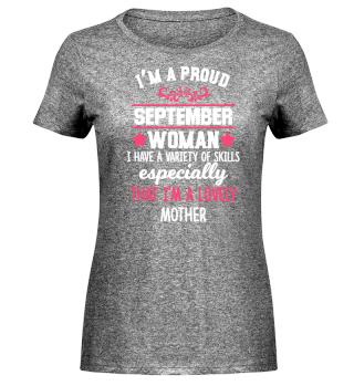 proud September Woman - lovely Mother