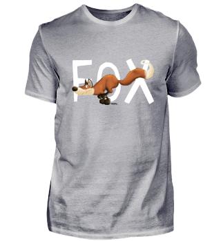 Funny Running Fox - Fuchs - Wild - Gift