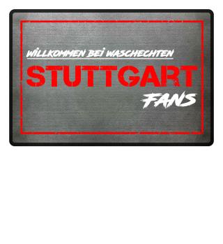 Fußmatte Stuttgart Waschechte Fans