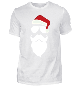 Santa Claus Weihnachtsmann Hipster Bart
