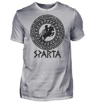 Sparta Spartan Warrior - horseman