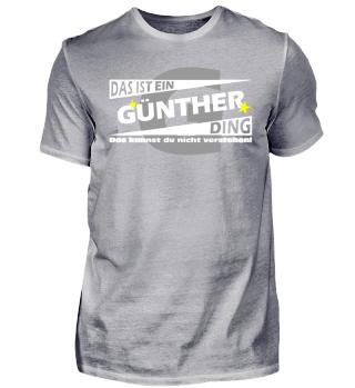 GÜNTHER DING | Namenshirts