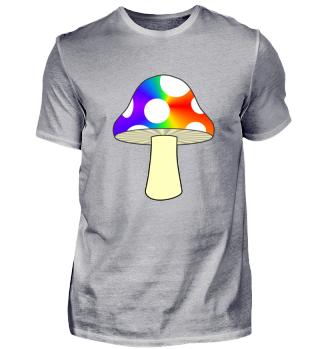 Pilz Psychedelic Mushroom Look Magie