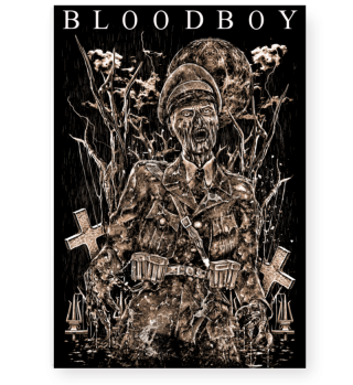 BLOODBOY GNZOMBIE POSTER