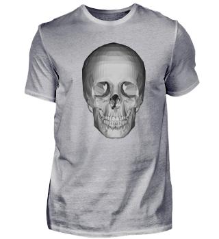 Skull Schädel Totenkopf abstrakt Kunst