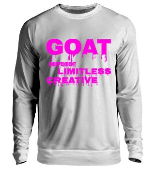 Slimy GOAT, Stylischer Sweater