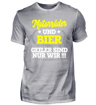 MOTORRÄDER und Bier