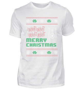 Musician Music Shirt Merry Christmas