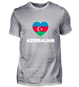 Love Azerbaijan - Geschenk Idee