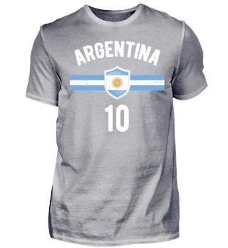 ARGENTINIEN FAN SHIRT (personalisierbar)