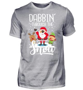 Weihnachten Geschenk Dabbing Dab