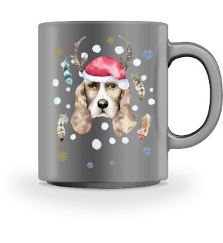 ☛ Merry Christmas · Boho Dog #4CPT