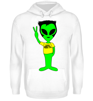 Peace Alien - Wolverines Animal Fan