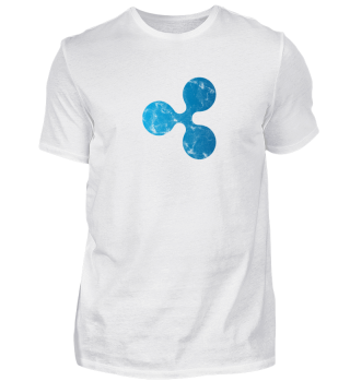 Ripple T-Shirt (XRP) - Logo Used Look