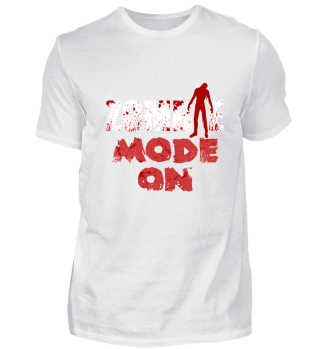 zombie mode on Halloween Shirt gift