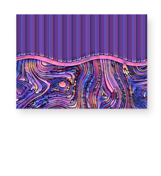 Abstract Art Formulation Stripes I 2