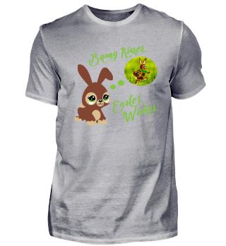 Frohe Ostern niedlicher Hase Shirt