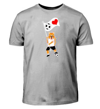 Kinder Fußball Shirt Katze