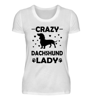 Crazy Dachshund Lady