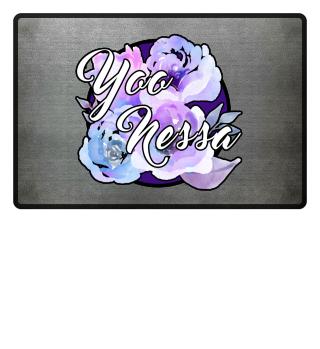 Yoo-Blume Fußmatte