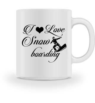 ♥ I LOVE SNOWBOARDING #3ST
