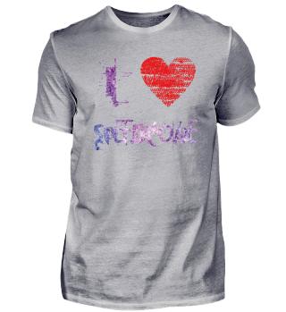 Love Techno Hardstyle Speedcore purple