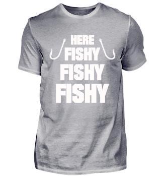 FUNNY FISHING FISHERMAN GIFT T-SHIRT