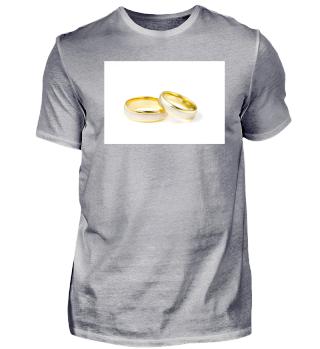 Eheringe Gold Hochzeit-Design