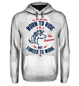 Einhorn reiten - lustiges Reiter Shirt