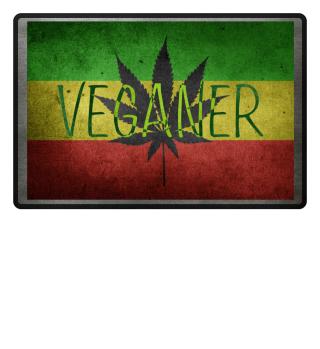 Rastafari Reggae Hanf Veganer grunge