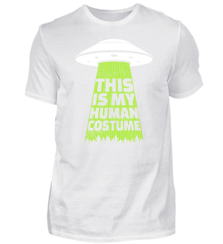 Alien Ufo Gift Funny Alien Outer Space