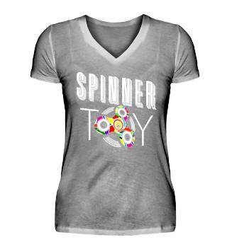 Fidget Spinner TOY - white
