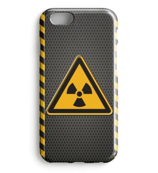 Warnung Atom Strahlung 0149
