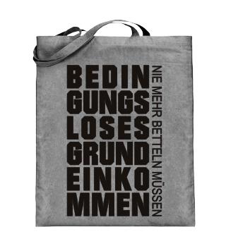 GRUNDEINKOMMEN - BETTELN 1