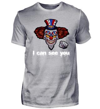 Clown Horror Halloween Teufel Humor