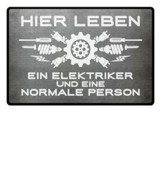 Elektriker: ...und eine normale Person - Geschenk