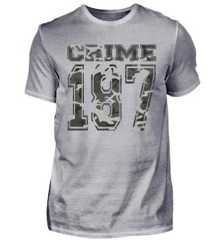 187 Crime Street Clyde Bonnie Thug Camo