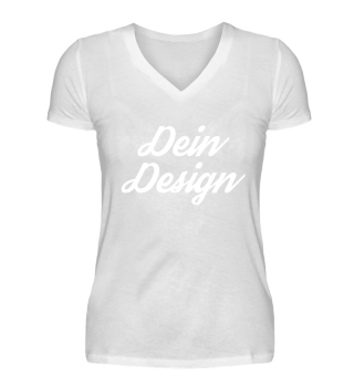 Damen V-Neck Shirt