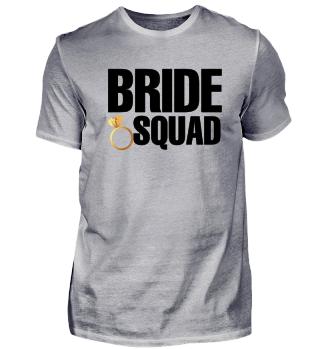 Bachelorette Party Wedding Bride Squad